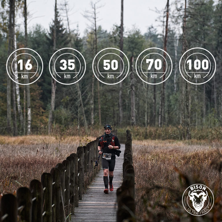 70 km added to the choice of distances!