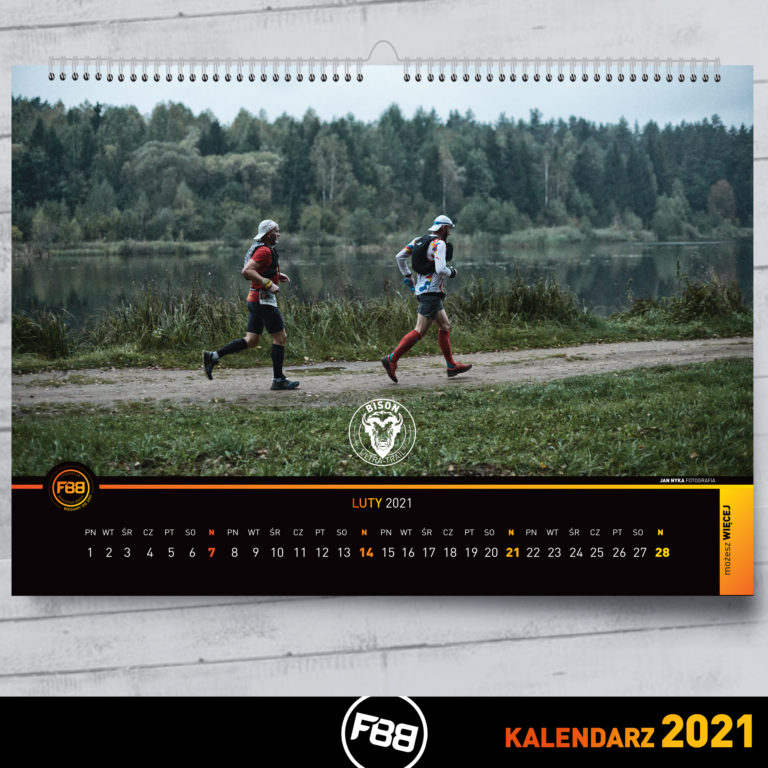 2021 Calendar with beautiful Bison Ultra-Trail® pics